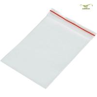 100stk - Druckverschlußbeutel transparent - 100 x 100 x 0,05 mm