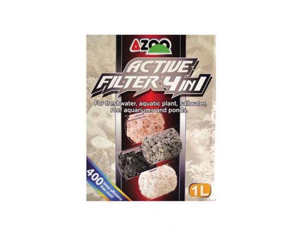 AZOO - AZOO HangOn Filter Filtermaterial 4 in 1 für MIGNON 150
