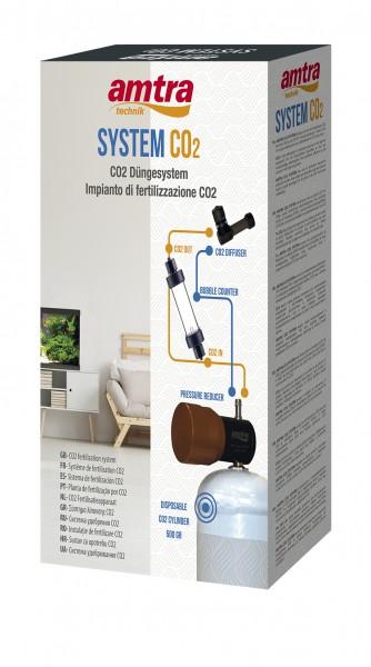 Amtra - CO2 System inkl. Blasenzähler