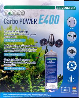 Carbo Power E400 Co2 Pflanzen-Dünge-Set EINWEG