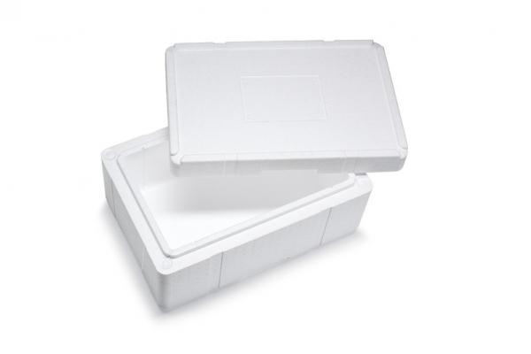 Premium Styroporbox / Styroporkiste / Thermobox - 25,0 l - Gr. 10