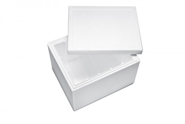 Premium Styroporbox / Styroporkiste / Thermobox - 101,5 l - Gr. 14