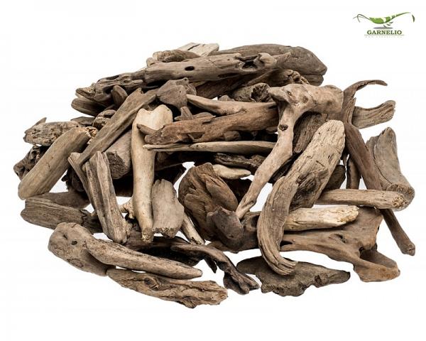 Treibholz Natur - 10 Stk.  für Krabbenterrarien