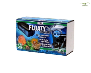 JBL FloatyShark - der schwimmende Algenmagnet