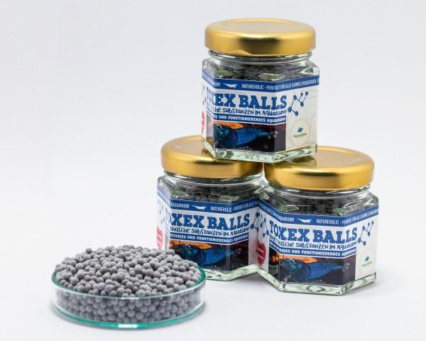 NatureHolic - TOXEX BALLS - 47 ml - Bindet toxische Substanzen im Aquarium