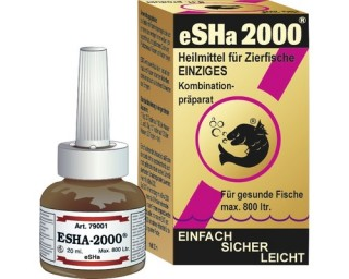 eSHa 2000 - Heilmittel für Zierfische