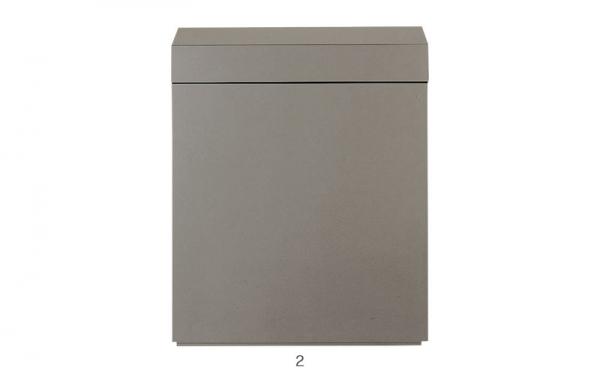 ADA - Wood Cabinet - Metallic Silver
