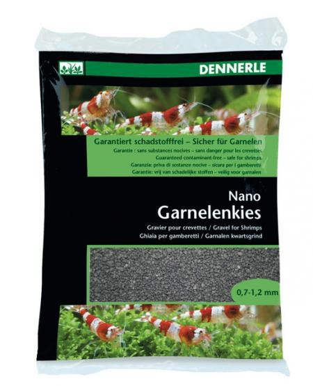 Dennerle Nano Garnelenkies, Sulawesi Schwarz - 2 kg