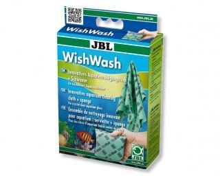 JBL WishWash - Aquarienreinigungstuch + Schwamm