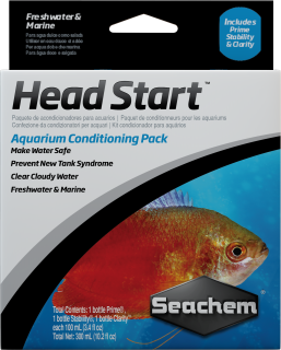 SEACHEM - Head Start, includes Prime, Stability & Clarity - 100ml