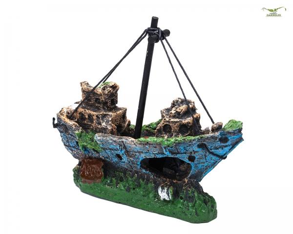 Piratenschiff - Aquarium Deko und Versteckplatz