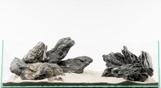 Minilandschaft schwarz - vers. Größen