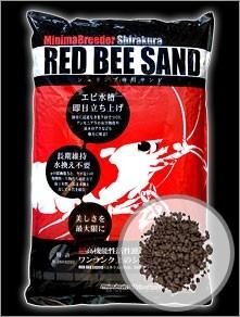 Shirakura Red Bee Sand, 4 kg (ca. 4 Liter)
