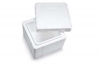 Premium Styroporbox / Styroporkiste / Thermobox - 18,8 l - Gr. 15