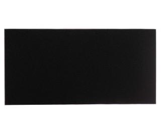 Natureholic - Filtermatte - Schwarz - 100 x 50 x 5cm