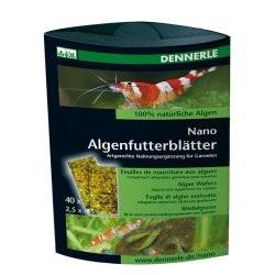 Dennerle Nano Algenfutterblätter, 40 Stk.