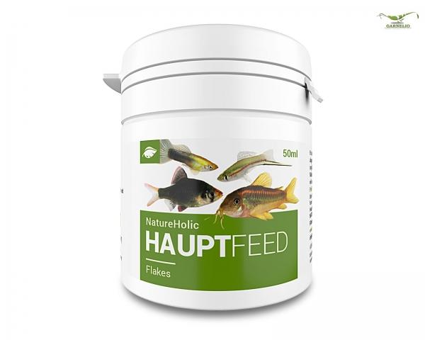 "NatureHolic Hauptfeed ""Flocke"" - Zierfischhauptfutter - 50ml"