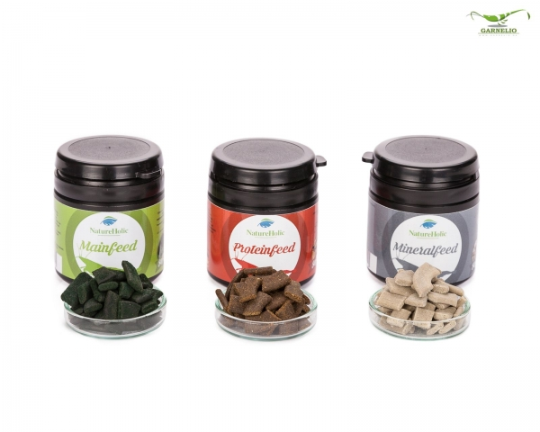NatureHolic - Futter Paket - Mainfeed / Proteinfeed / Mineralfeed