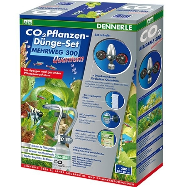 Dennerle CO2 Pflanzen-Dünge-Set MEHRWEG 300 Quantum