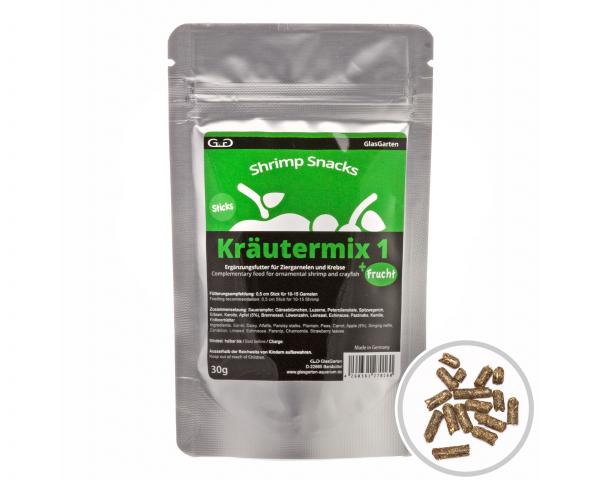 Shrimp Snacks Kräutermix 1 + Frucht - 30g
