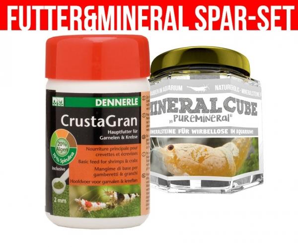 "1 x CrustaGran + Mineralcube ""Pure Mineral"""