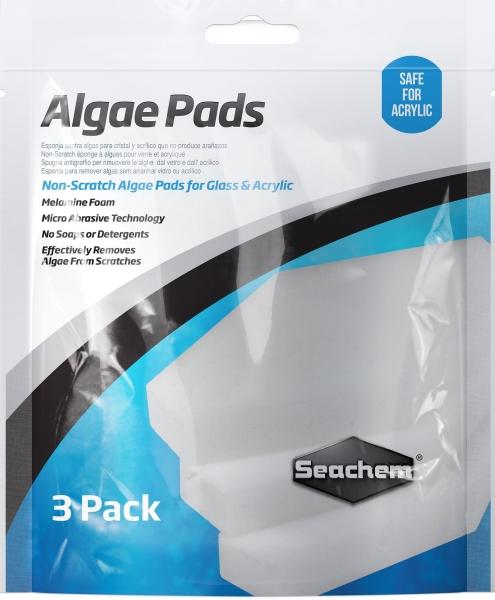 SEACHEM - Algae Pad - 25 mm Thick - 3 Pack