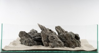 Mini Landschaft - Aquarium Stein / Fels