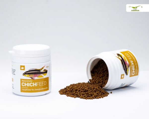 NatureHolic Chichfeed - Chichlidenfutter - 50ml