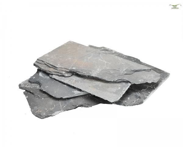 Schiefernplatten in verschiedenen Größen - 1kg