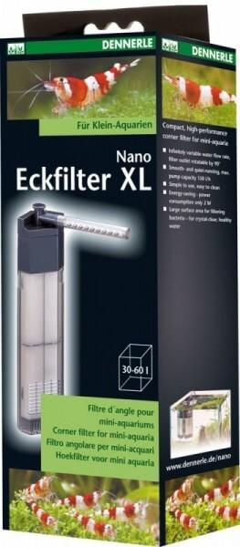 Dennerle Nano Clean Eckfilter XL, Garnelensicher