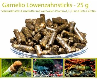 Garnelio - Löwenzahn Sticks - 25 g