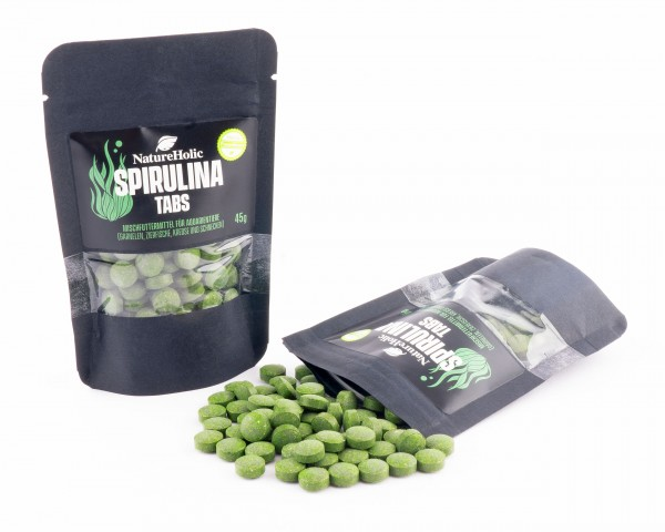 Natureholic - Spirulina Tabs - 45g
