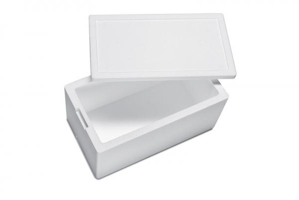 Premium Styroporbox / Styroporkiste / Thermobox - 16,0 l - Gr. 8