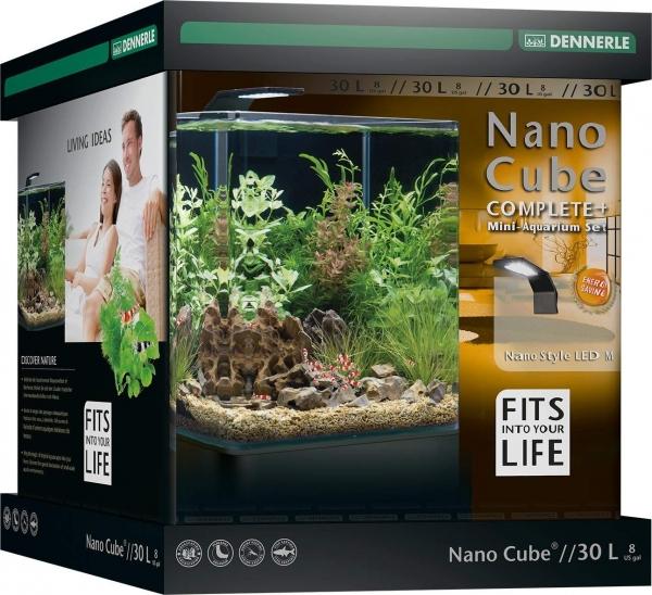 Dennerle Nano Cube Aquarium - STYLE LED - Complete+