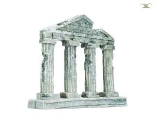 Säulen Ornament Antik - 14cm