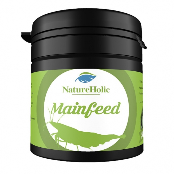 NatureHolic - Mainfeed Garnelenfutter - 30g