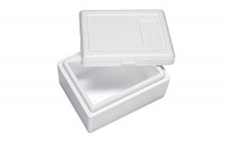 Premium Styroporbox / Styroporkiste / Thermobox - 1,5 l - Gr. 1