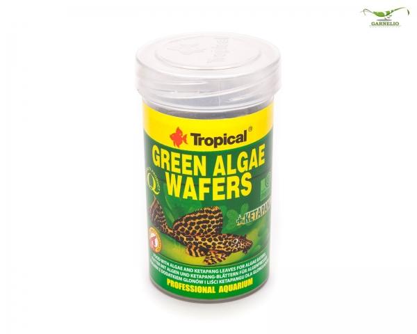Tropical Green Algae Wafers, 100 ml