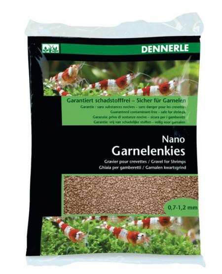 Dennerle Nano Garnelenkies, Borneo Braun - 2 kg