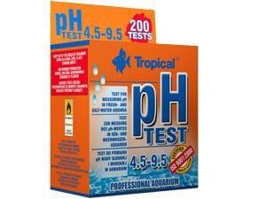 Tropical ph-Test 4.5 - 9.5 (Süß- und Meerwasser) für 200 Messungen