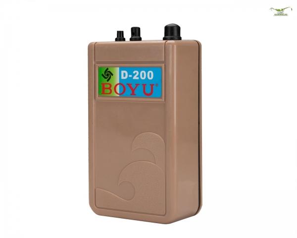 Durchlüfterpumpe - D200 - 120 L/h
