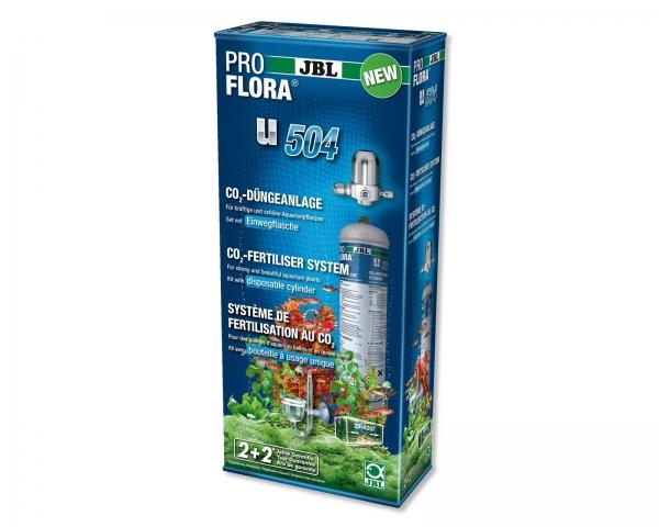 JBL ProFlora u504 - CO2 Düngeanlage Komplettset mit Einwegflasche