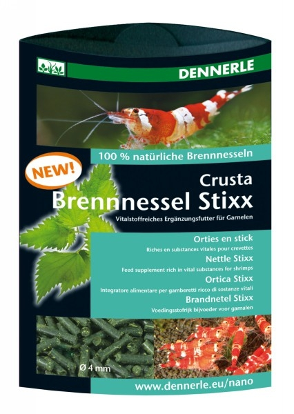 NanoCrusta Brennnessels Stixx 30g - Dennerle