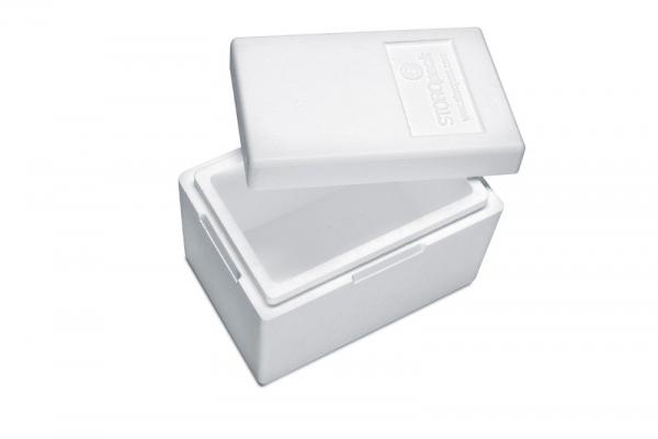 Premium Styroporbox / Styroporkiste / Thermobox - 7,3 l - Gr. 5