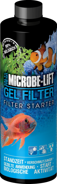 MICROBE LIFT - Gel Filter starter - 118 ml