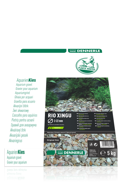Naturkies Plantahunter Rio Xingu MIX 2-22mm 5kg