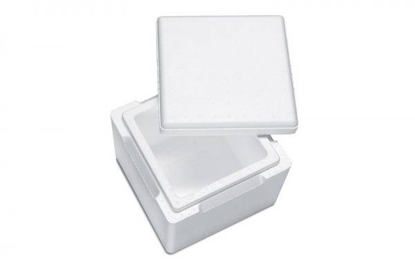 Premium Styroporbox / Styroporkiste / Thermobox - 3,5 l - Gr. 3