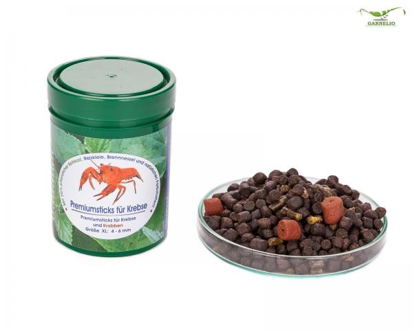 Naturefood: Premium-Sticks für Krebse und Krabben - 140g