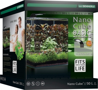 Dennerle Nano Cube Aquarium - STYLE LED - Basic