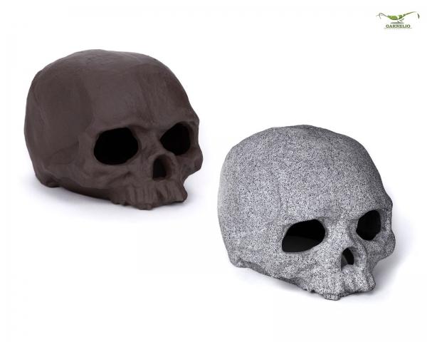 GRNLO - Crusta Skull - grey/braun
